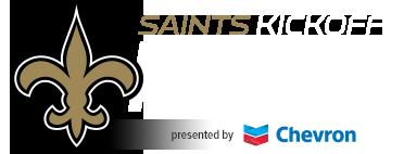 Saints Kickoff Run
